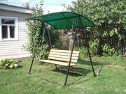 Продаем качели садовые,  привезем бесплатно