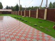 Укладка тротуарной плитки,  бордюры в Барановичах от 25м2