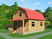Дачный недорогой Дом из бруса с установкой за 15 дней Барановичи