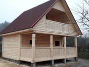 Дом/Баня из бруса Вежа 6×4 с установкой недорого