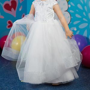 Платье детское на новый год утренник