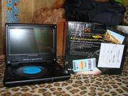 Продам портативный DVD-проигрыватель (плеер) DPC-8409PD от Daewoo,  нов