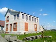 Продается двухэтажный дом. 60% готовности